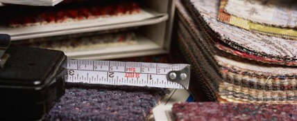 Measuring up for carpet at Floorcovering Warehouse Kingston